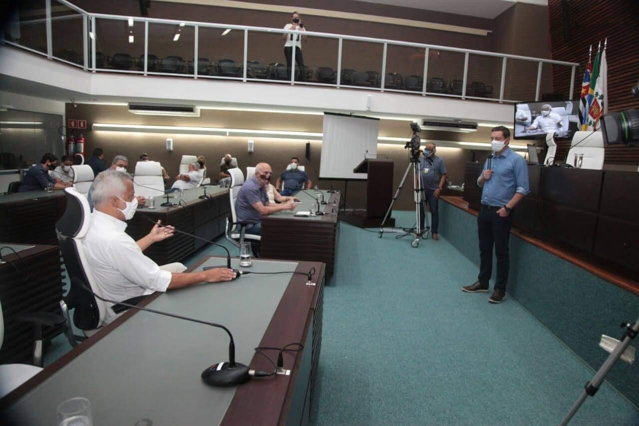 Plano foi apresentado na Câmara Municipal de Santos nesta segunda