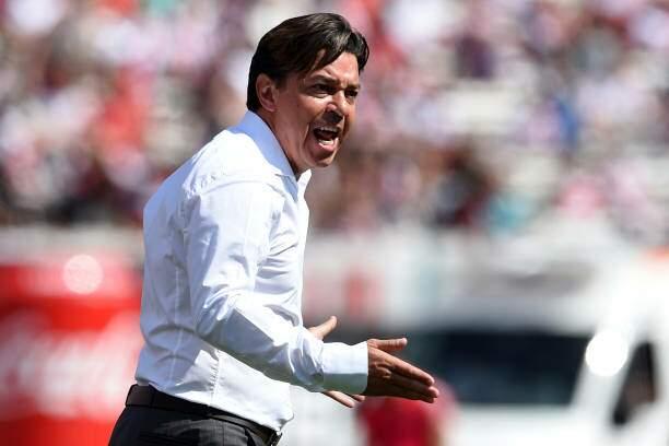 Treinador do River Plate, Marcelo Gallardo