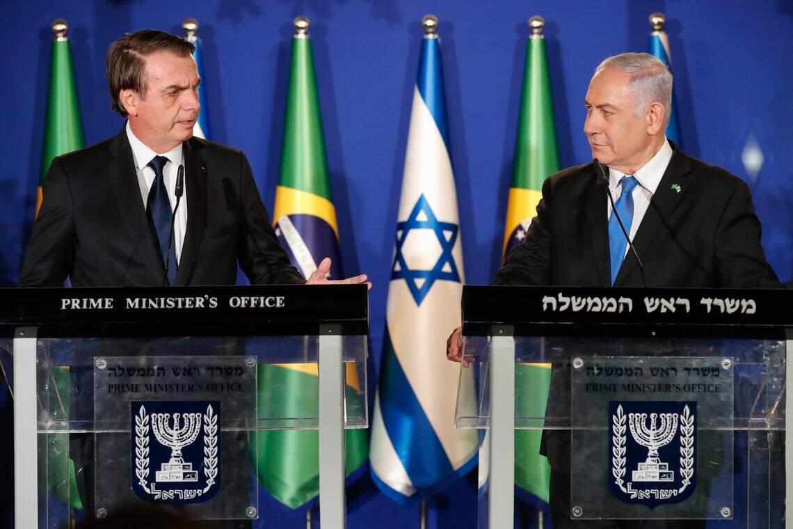 Embaixador de Israel confirmou reunião entre Bolsonaro e Netanyahu