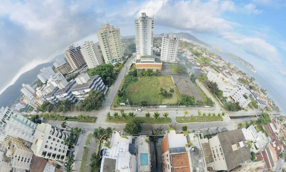 Prefeito de Guarujá sancionou lei que transfere para a PM uma área de 3.630 m² na Enseada