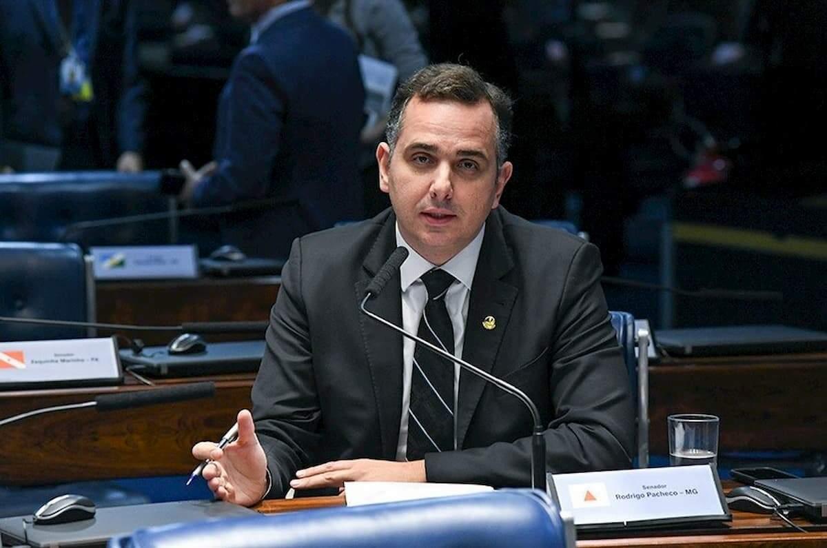 Rodrigo Pacheco (DEM-MG) foi eleito na tarde desta segunda-feira (1)