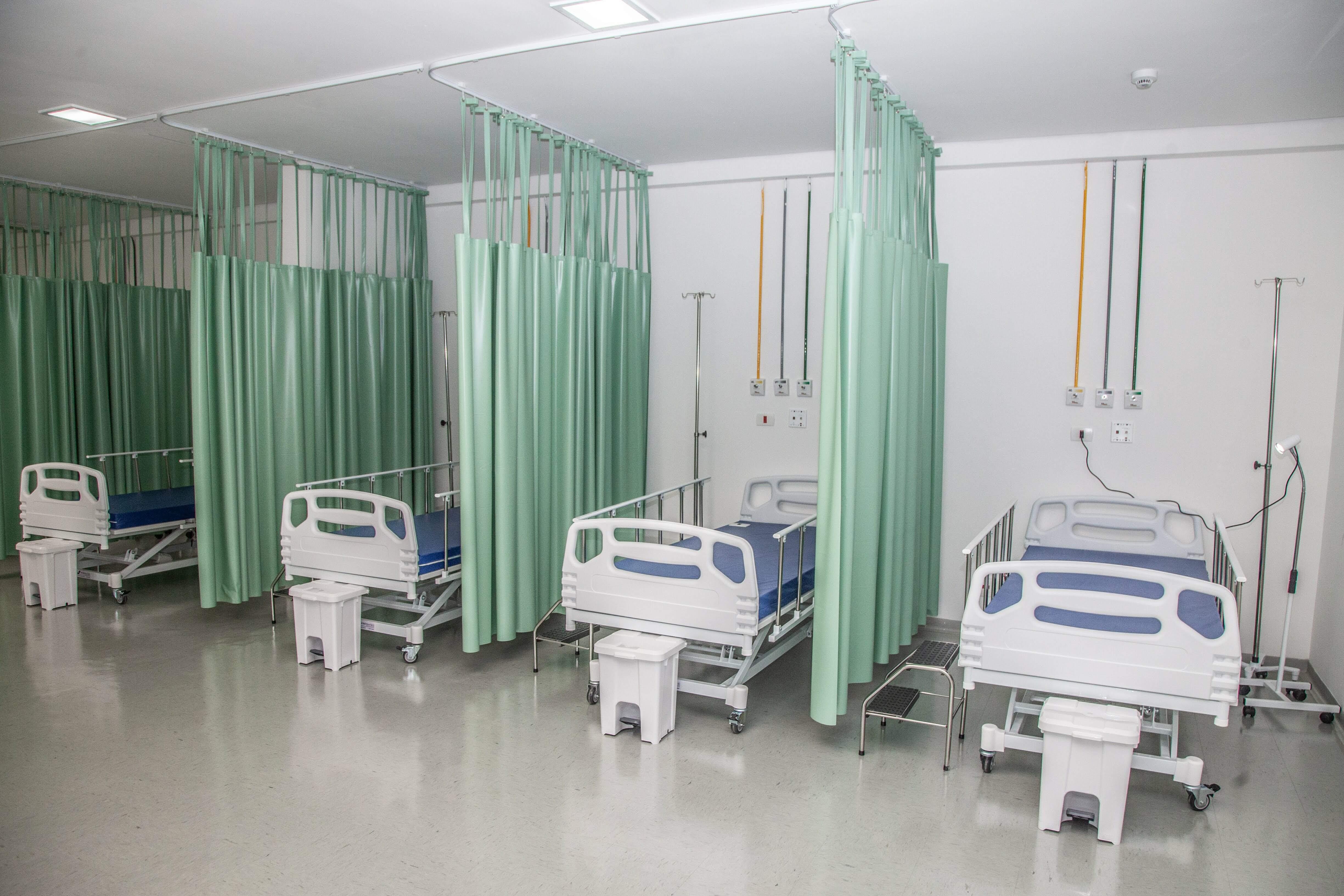 Hospital de campanha terá um total de 46 leitos para pacientes com sintomas do novo coronavírus