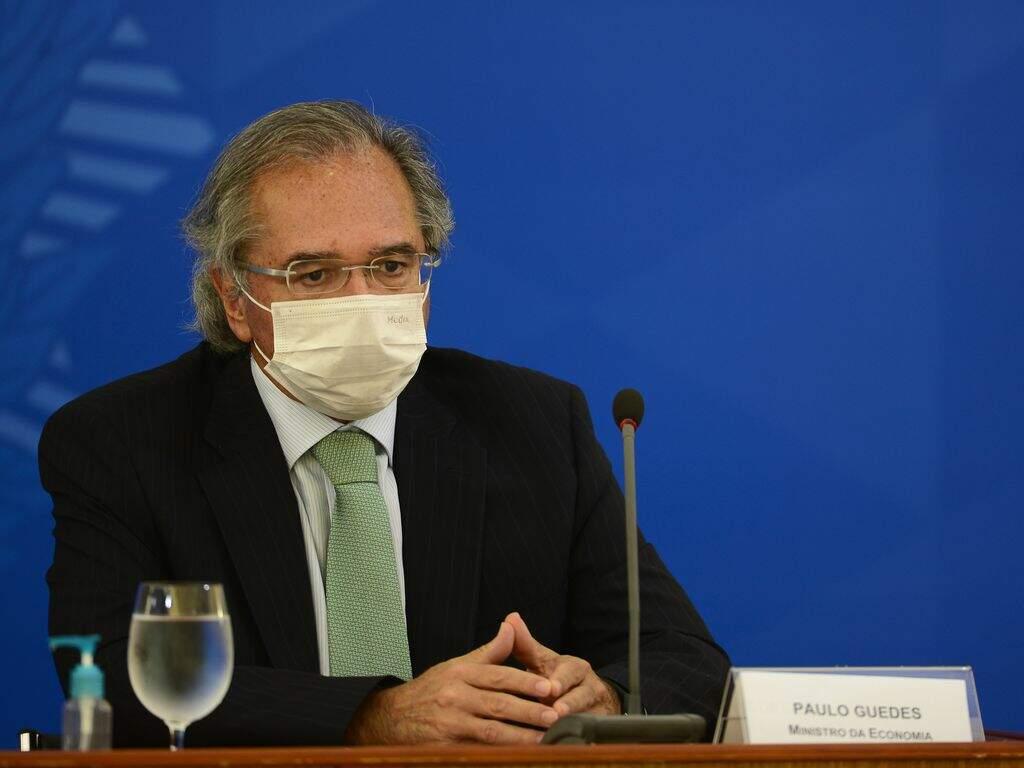 Guedes afirmou que o Brasil criou 1 milhão de empregos nos últimos 4 meses