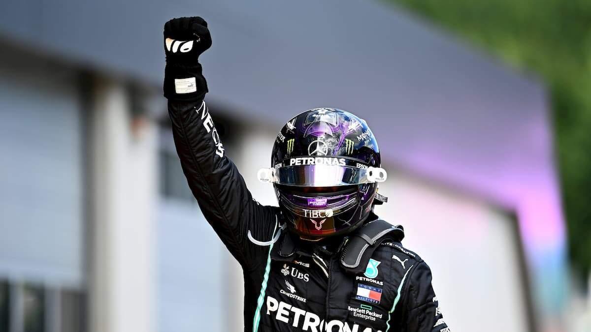 Inglês chega a vitória de número 89 na Fórmula 1