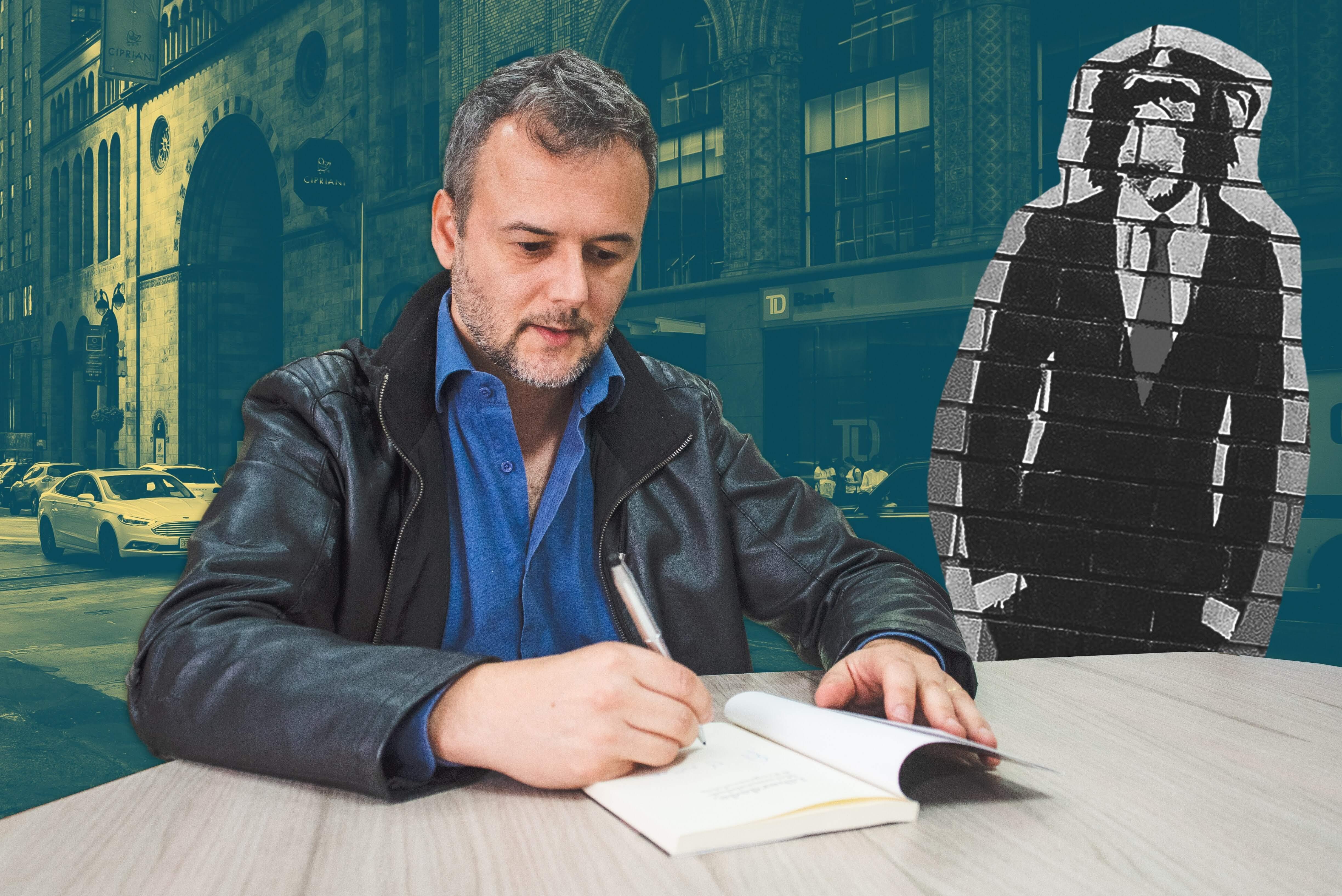 Depois do sucesso de Cidadelas & Muros, Gossn já tem um novo projeto em mente