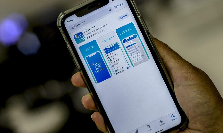O pagamento será feito na conta poupança social digital