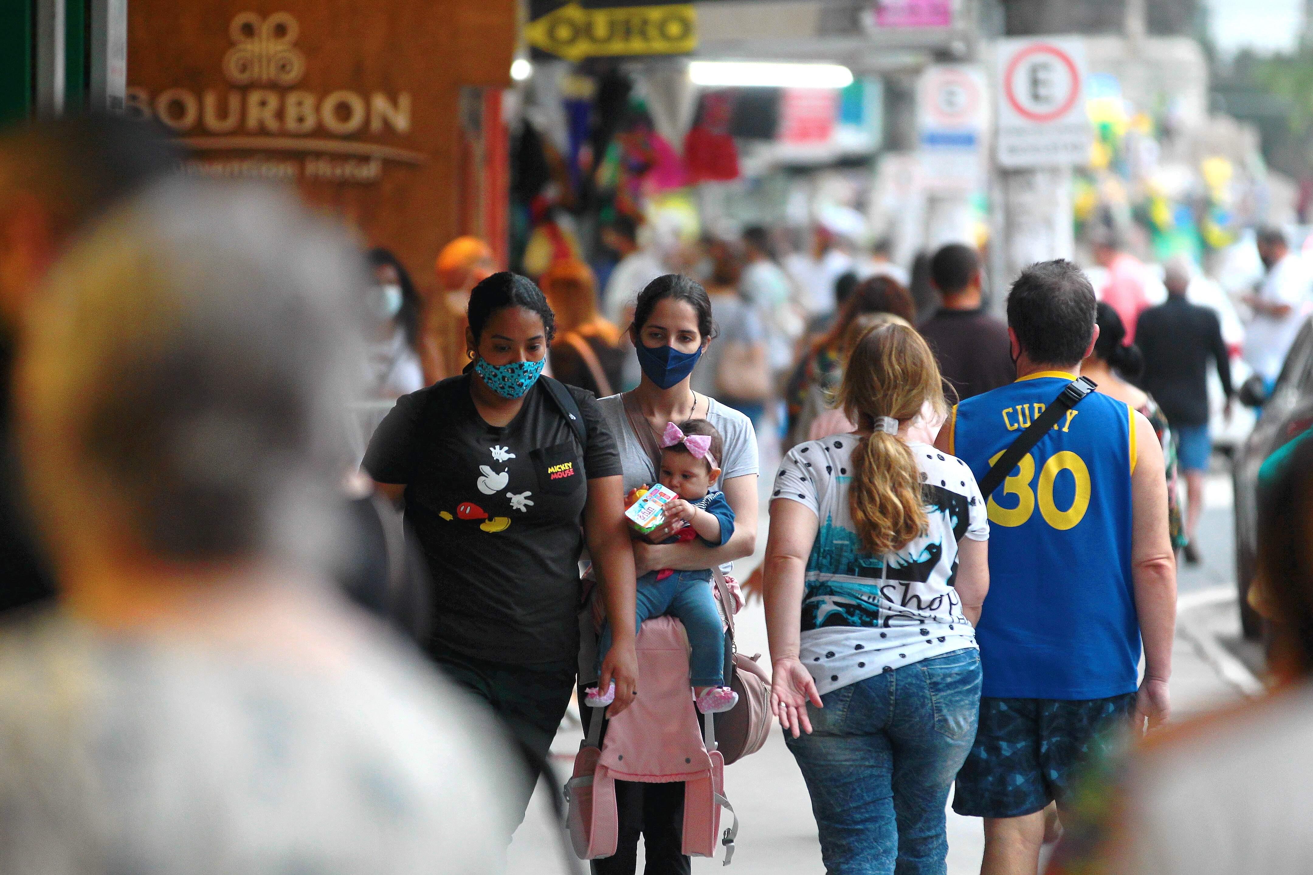 O estado de São Paulo, epicentro da doença no País, chegou a 1.889.969 casos confirmados