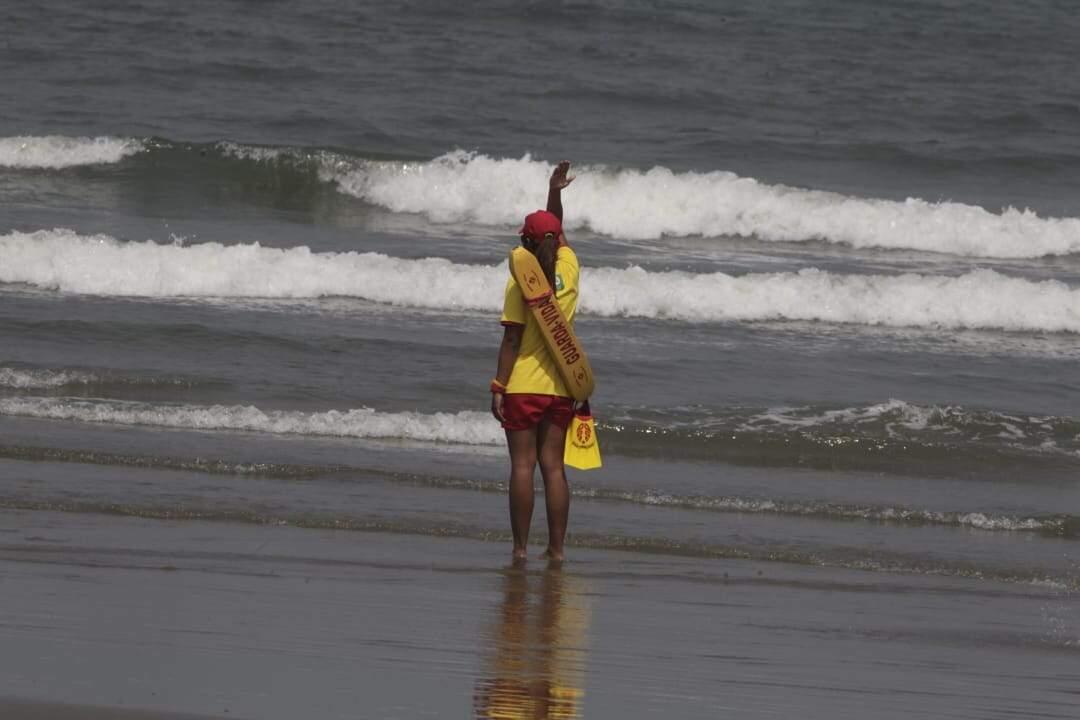 Praias da região tiveram uma morte no mar e um turista desaparecido em três dias