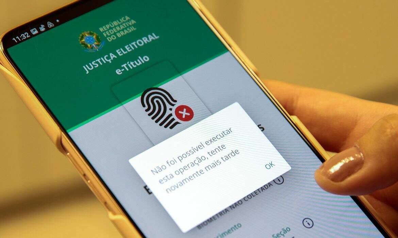 TSE orienta ao eleitora tentar novamente justificar o voto em caso de erro de rede