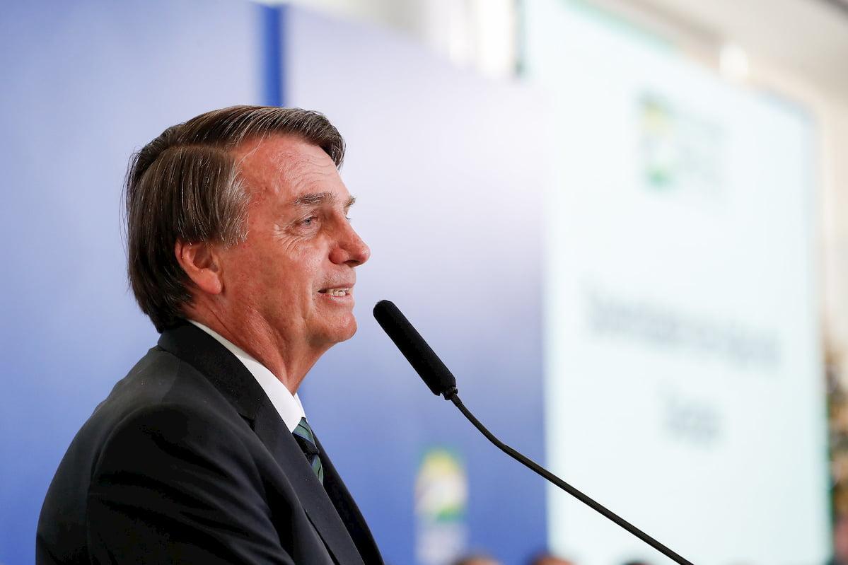 Bolsonaro disse que também não tem pressa de gastar os recursos