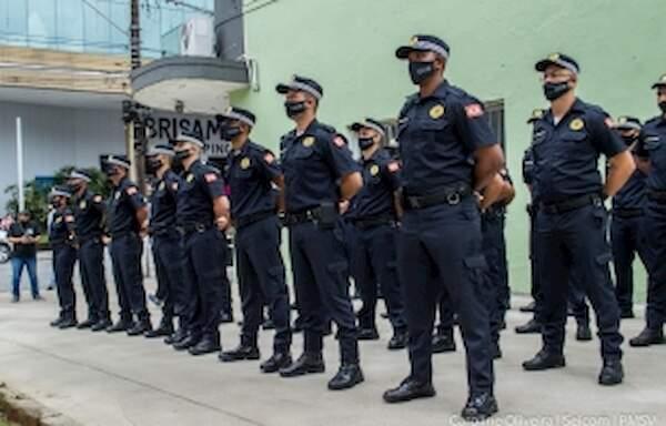 Os 30 novos integrantes já estão nas ruas de São Vicente