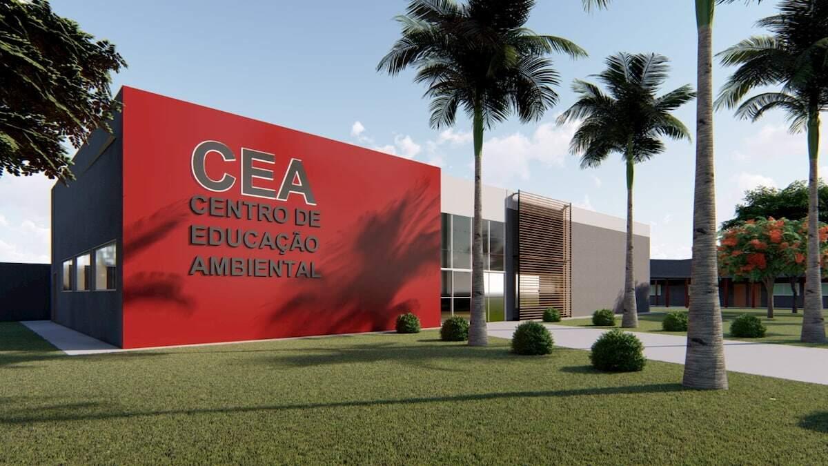 O CEA será um grande Parque Ambiental com oficinas, sala de cinema, museu e biblioteca ambiental