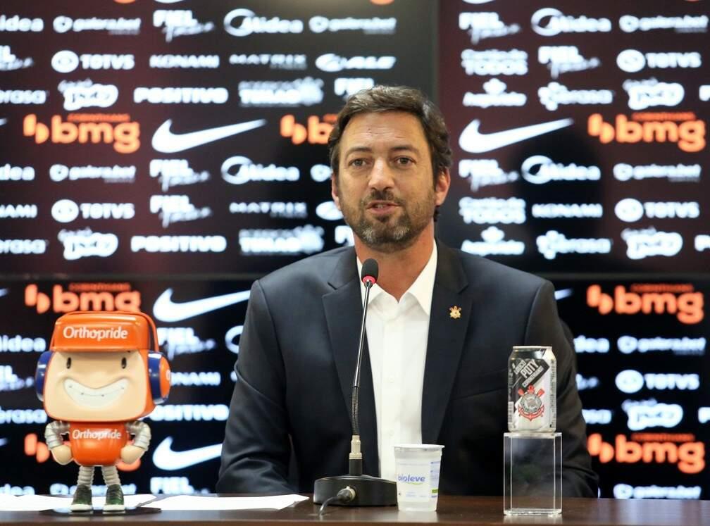 O novo presidente do Corinthians também assegurou que Vagner Mancini
