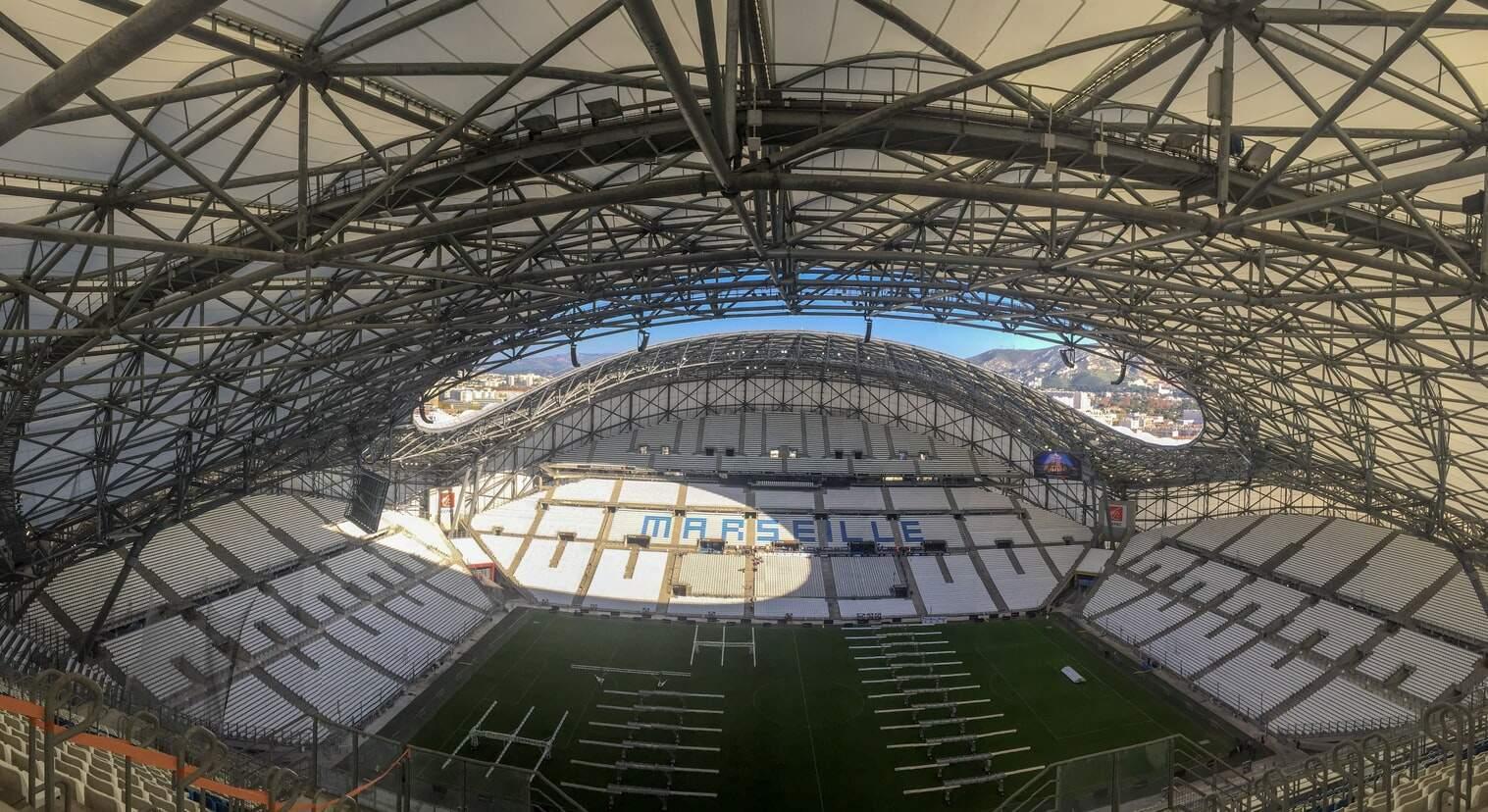 Estádio do Olympique de Marseille será utilizado para vacinação contra Covid-19