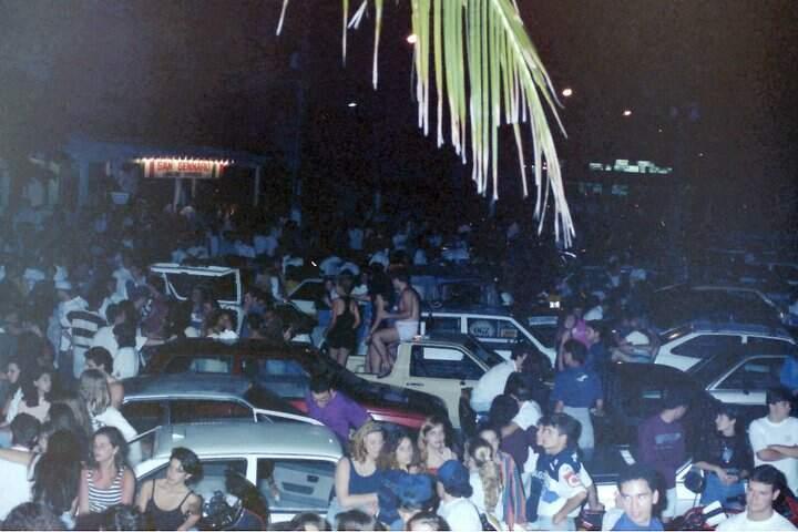 Local chegou a atrair milhares de pessoas ao Canto do Forte, em Praia Grande