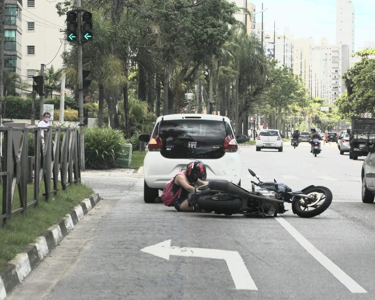 De acordo com testemunhas, condutora não se feriu