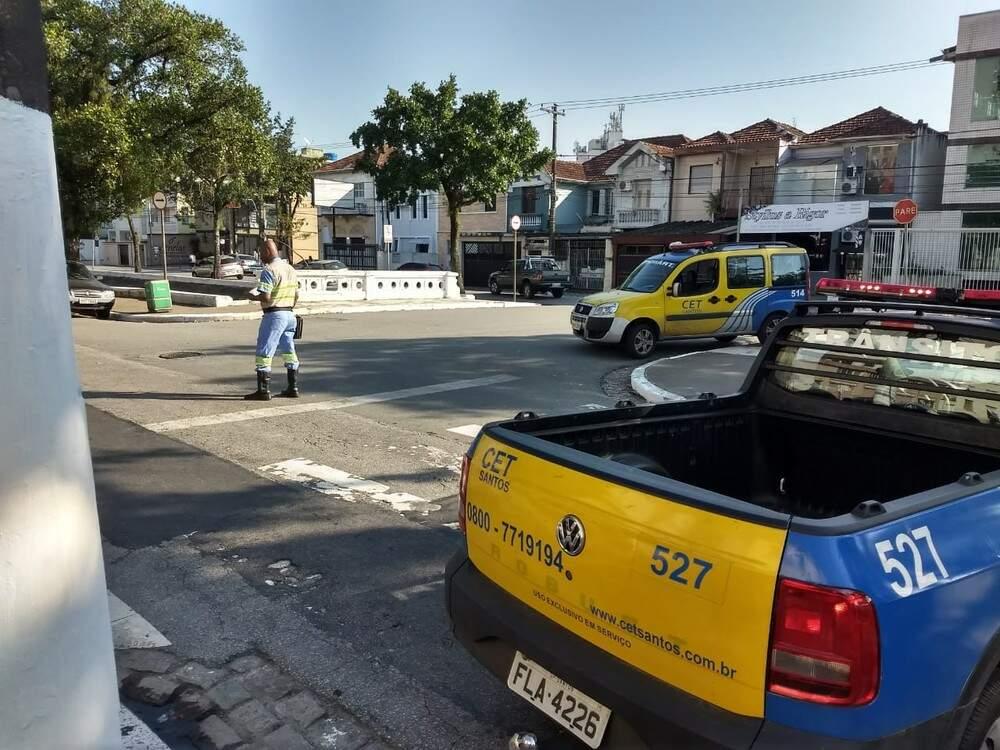 Ruas de quatro bairros serão interditadas a partir deste sábado em Santos