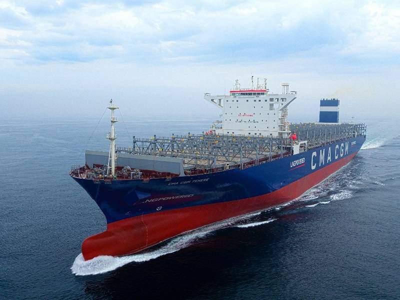 Estaleiro sul-coreano vai construir seis navios movidos a gás natural liquefeito