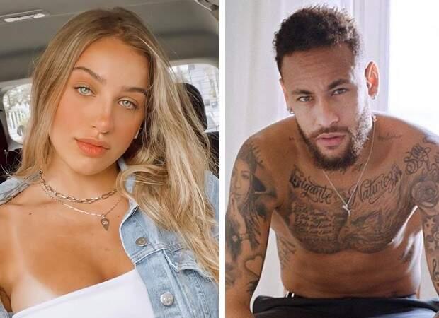 Neymar pediu WhatsApp da jovem catarinense na Virada do Ano