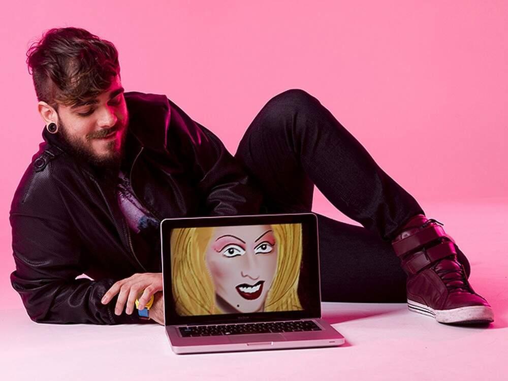 Morre aos 32 anos Daniel Carvalho, criador da personagem Katylene
