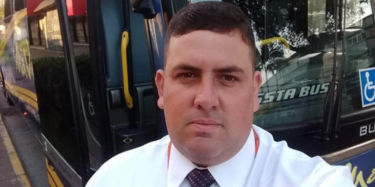 Motorista Rodrigo Luppi, de 37 anos