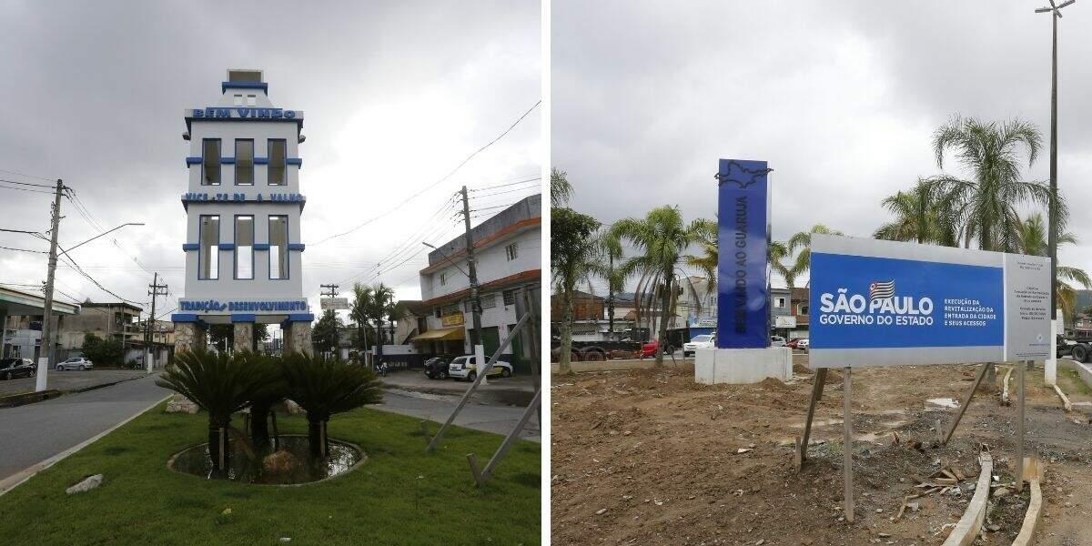 Obras de infraestrutura turística são realizadas pela Prefeitura de Guarujá