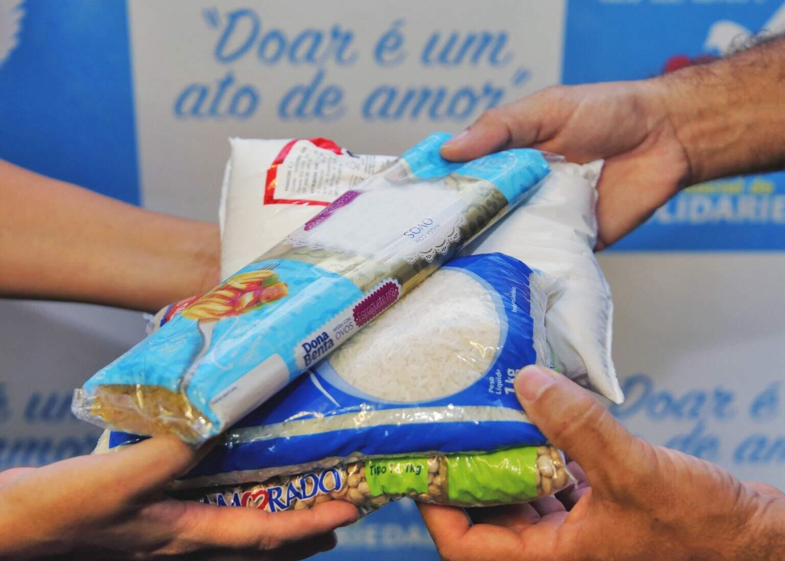 Os donativos são repassados às entidades cadastradas à medida que o FSS recebe as doações