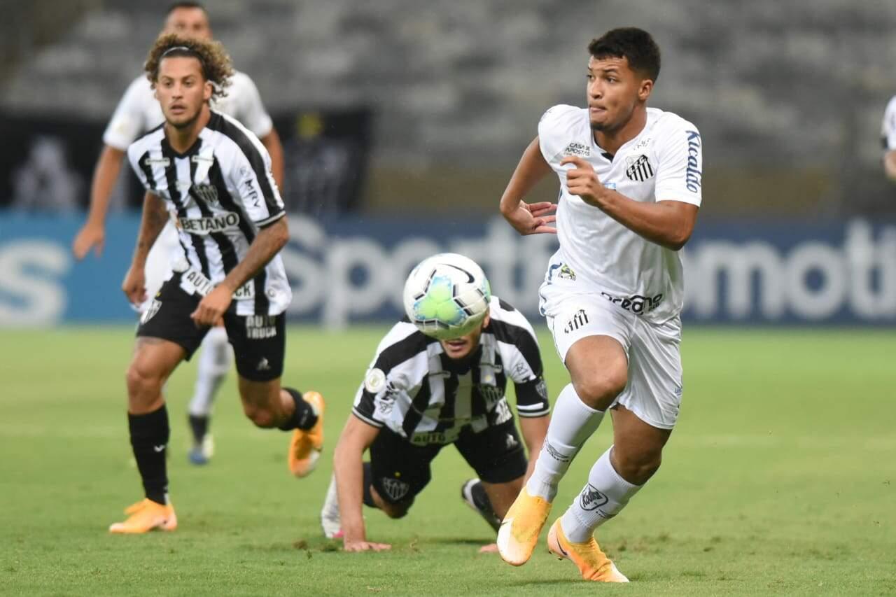 Santos perde para o Galo pelo Campeonato Brasileiro; 2 a 0