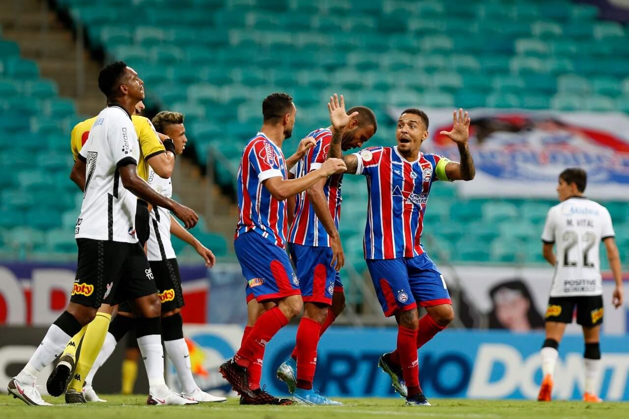 Com vitória, Bahia deixou a zona de rebaixamento do Brasileirão