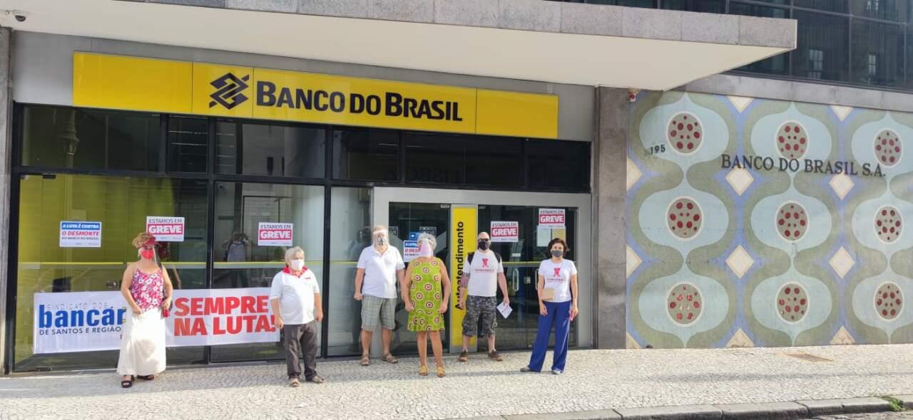 Em Santos, duas agências serão fechadas no planos de estruturação do Banco do Brasil