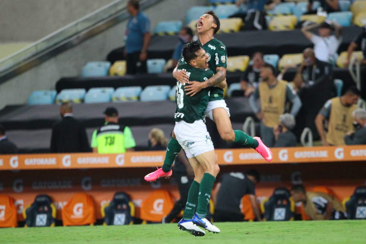Palmeiras conquistou o bicampeonato da Libertadores no Rio de Janeiro