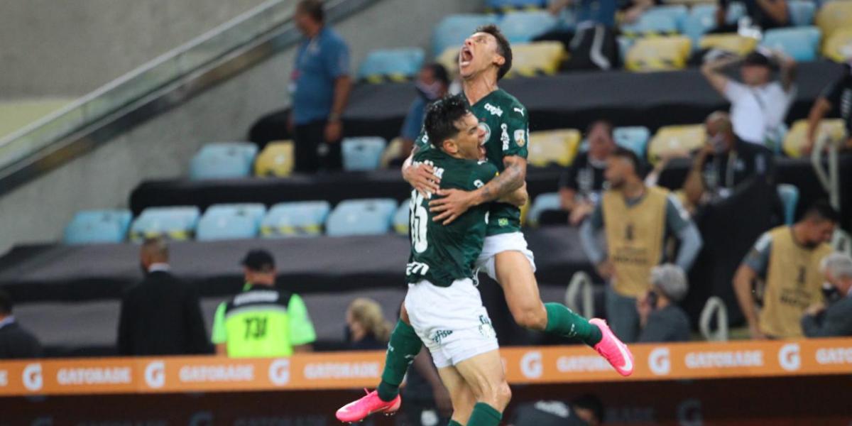 Equipe alviverde conseguiu gol da vitória nos acréscimos do segundo tempo