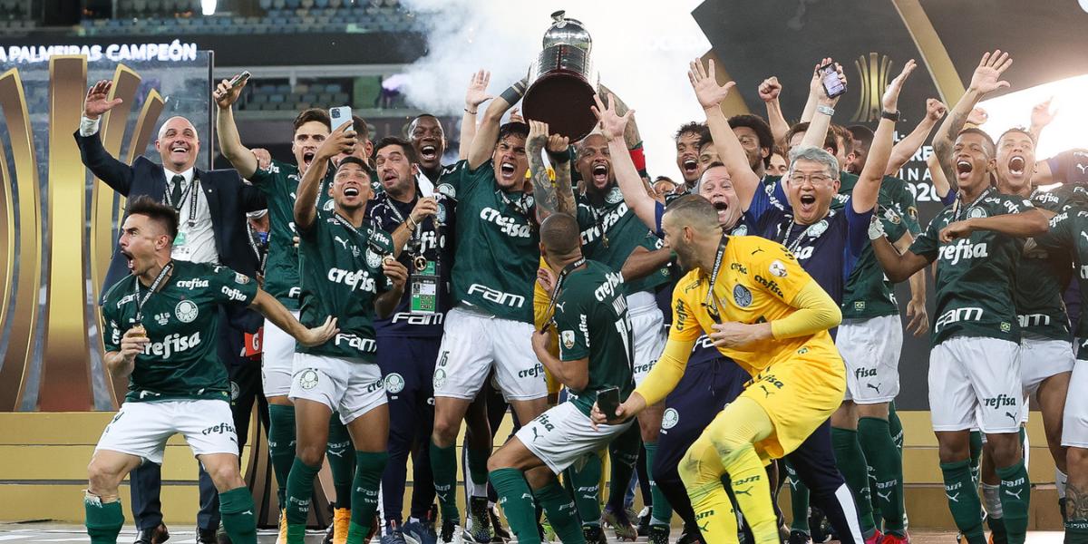 Jogadores do Palmeiras dedicam a família bicampeonato da Libertadores