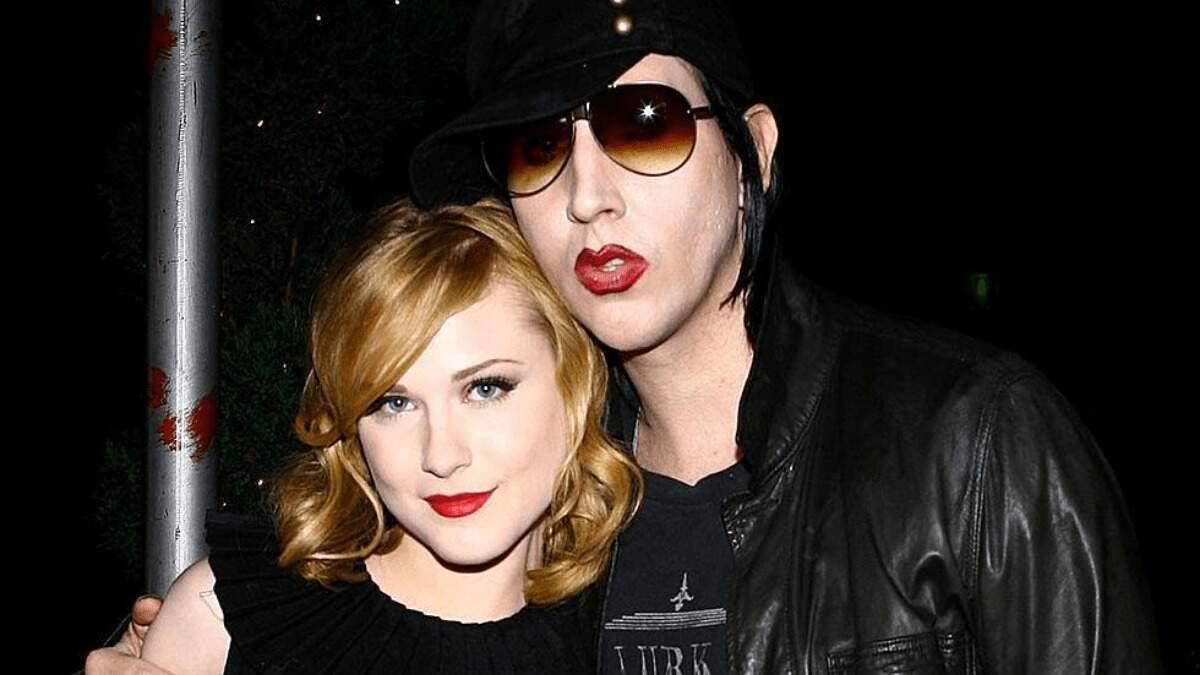 Evan Rachel Wood, ex-noiva de Manson, o acusou de anos de abusos