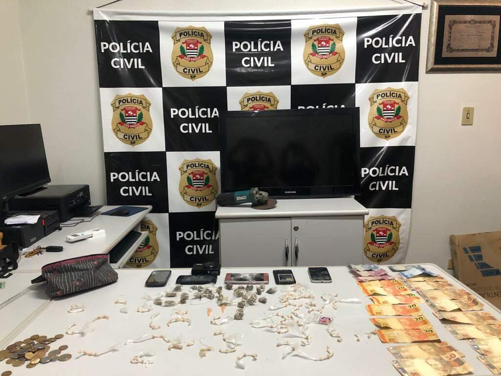 Nessa terceira fase da investigação foram mobilizados 60 policiais civis