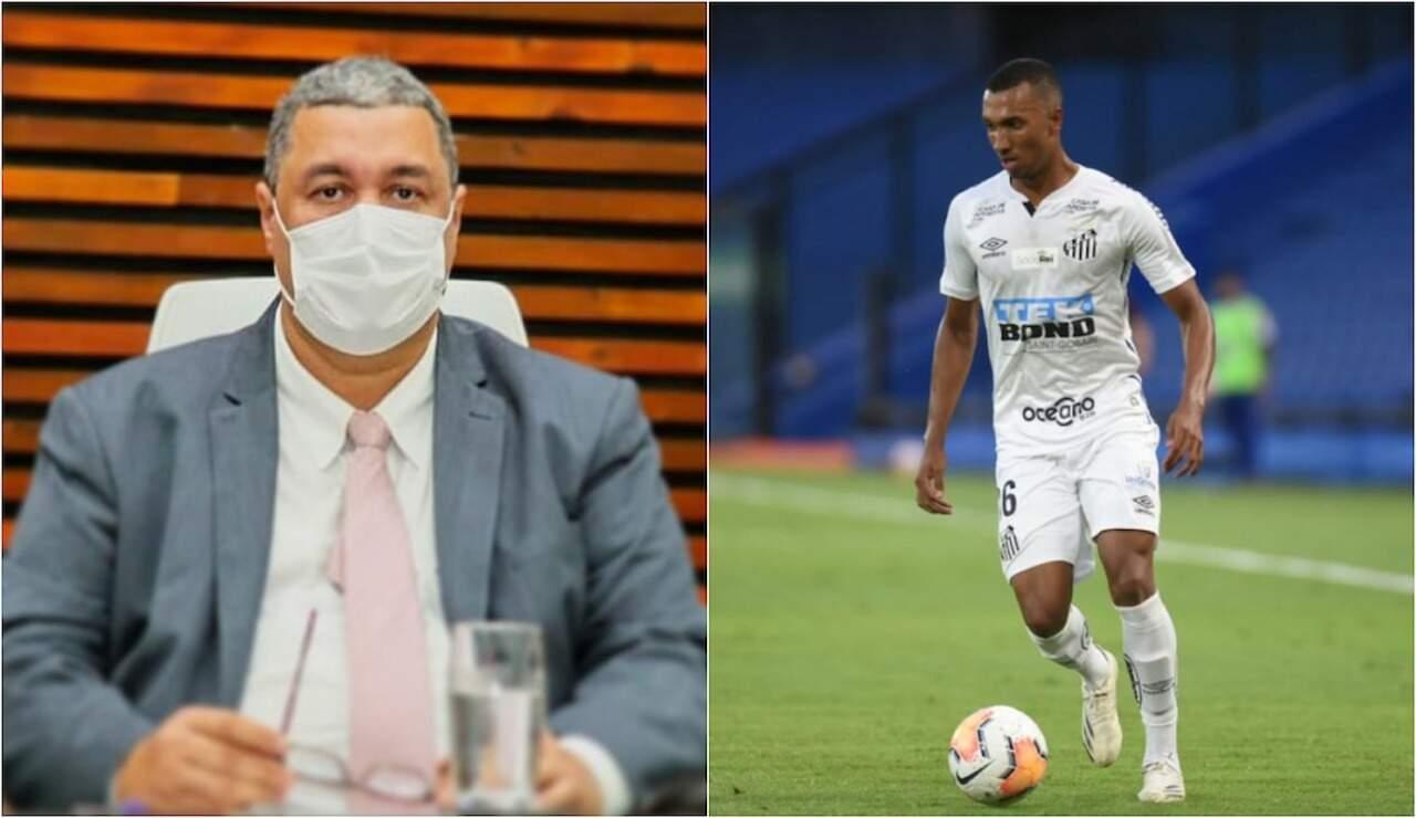 Atleta foi alvo de injúria racial provocada pelo narrador Haroldo de Souza