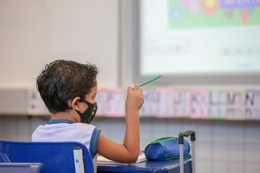 lém da plataforma digital, os alunos participarão de aulas on-line com o professor