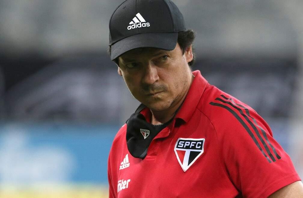 Fernando Diniz foi demitido do São Paulo na última segunda