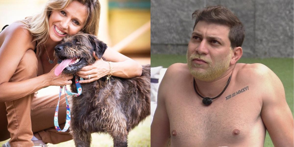 Luísa Mell acusa Caio de violência contra animais após fala polêmica no 'BBB 21'