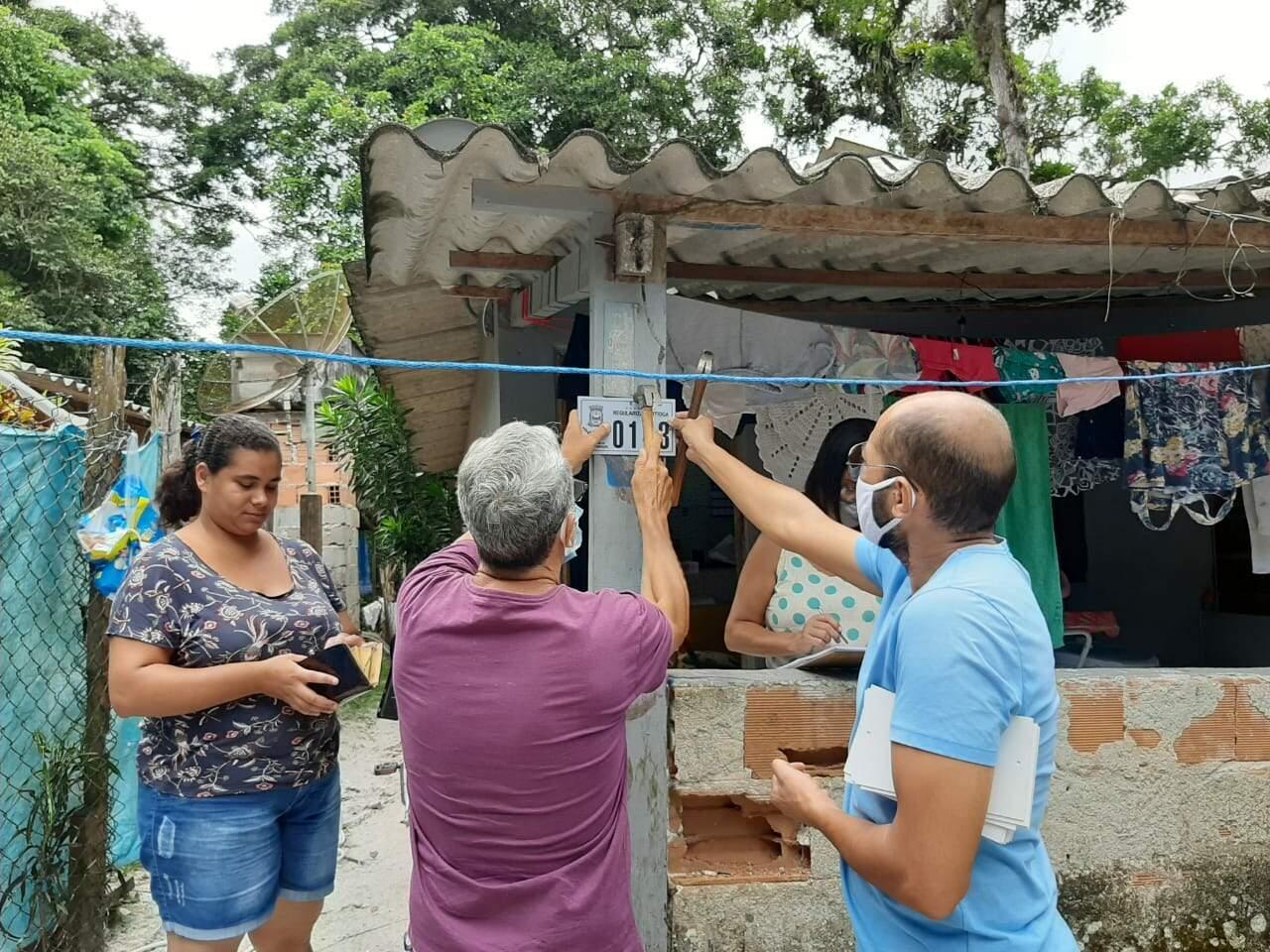 Congelamento foi feito no Núcleo Macuco, no bairro Guaratuba, área de preservação ambiental