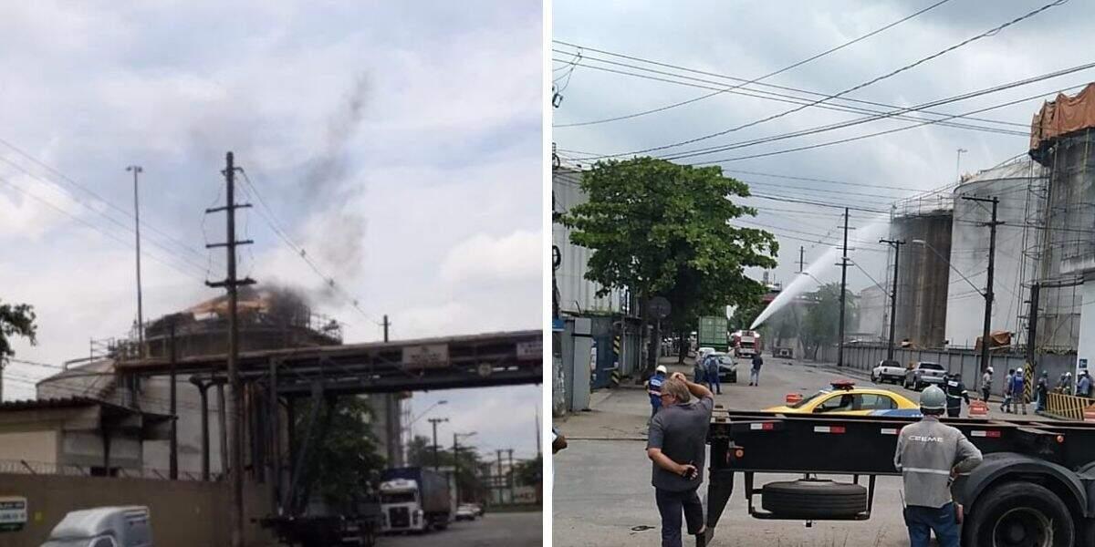 Um incêndio de proporções muito maiores já atingiu a mesma empresa em 2015