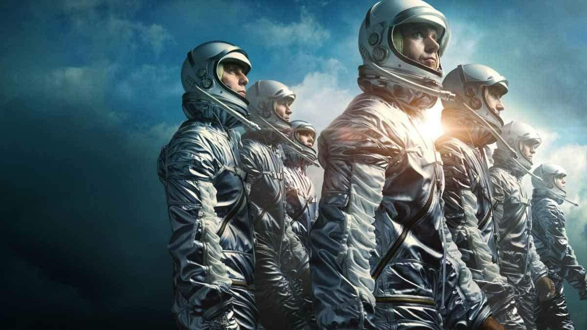 A série mostra como um grupo de astronautas tornam-se heróis do dia para a noite