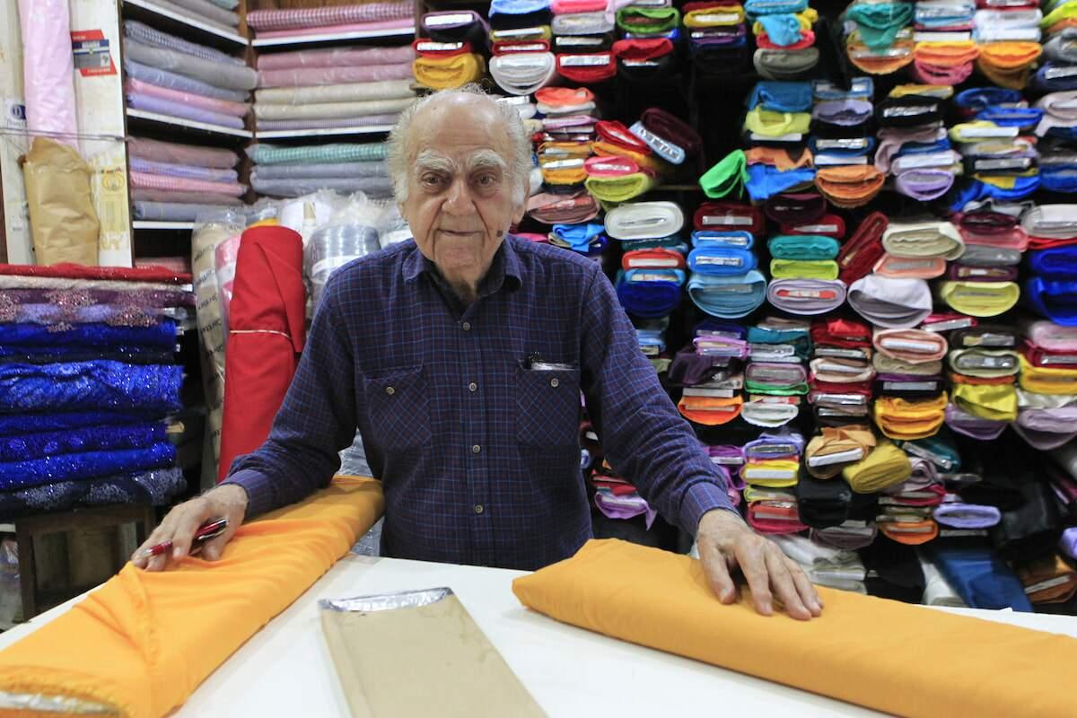 Comerciante de tecidos tinha 91 anos e morreu na última sexta-feira (12)