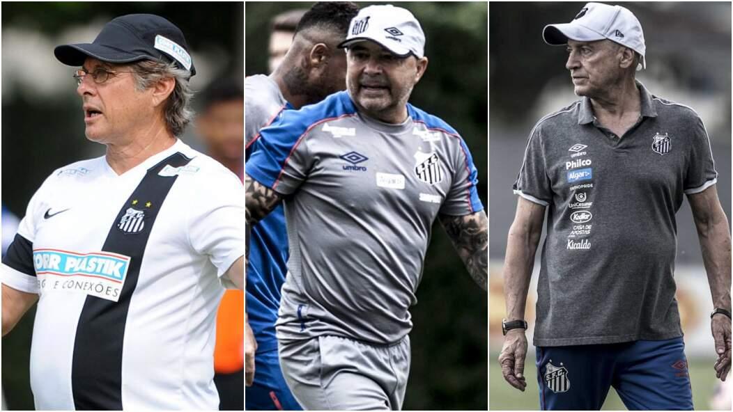 Oswaldo, Sampaoli, Jesualdo.. ex-treinadores do Peixe ainda tem a receber do clube