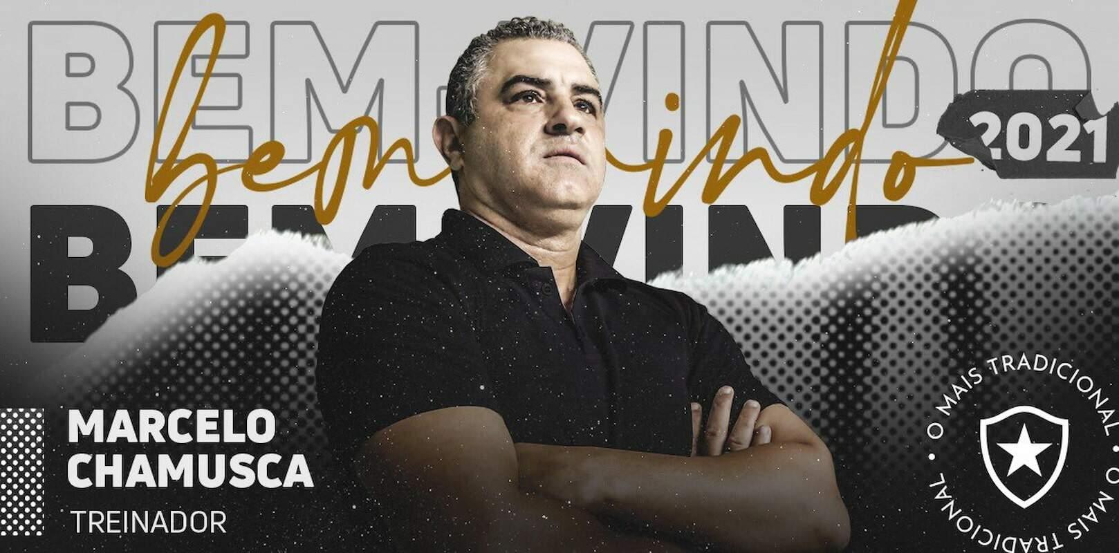 Aos 54 anos, o treinador que chega com a missão de reconduzir o Botafogo à elite