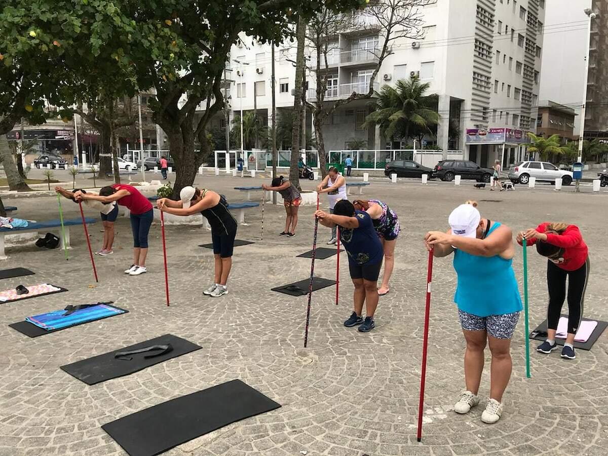 A iniciativa visa estimular as práticas esportivas