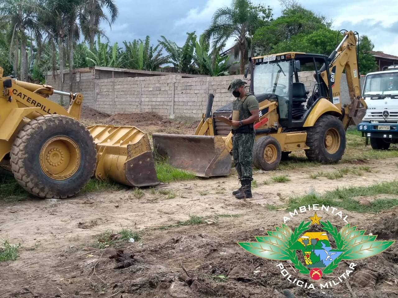 Área pertence a empresa 'Termaq Terraplanagem, Construção Civil e Escavações'