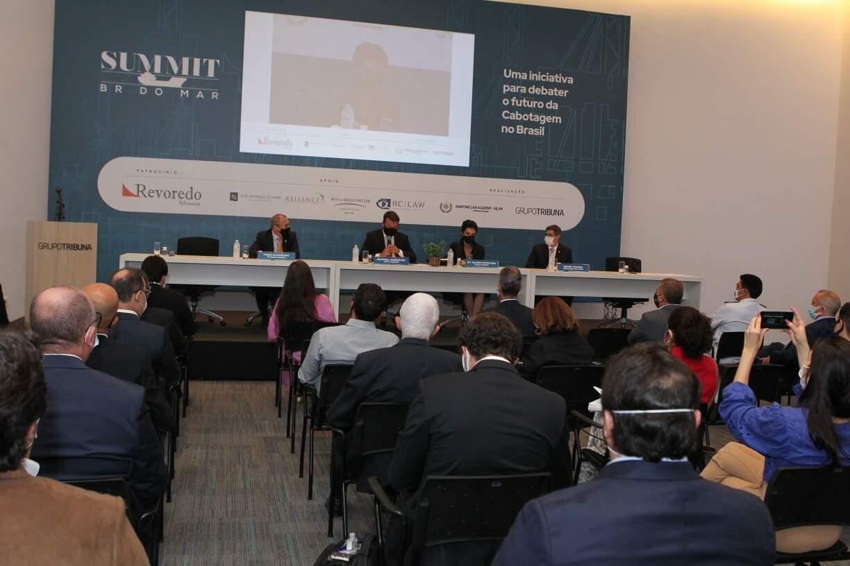 Summit BR do Mar foi organizado pelo Grupo Tribuna