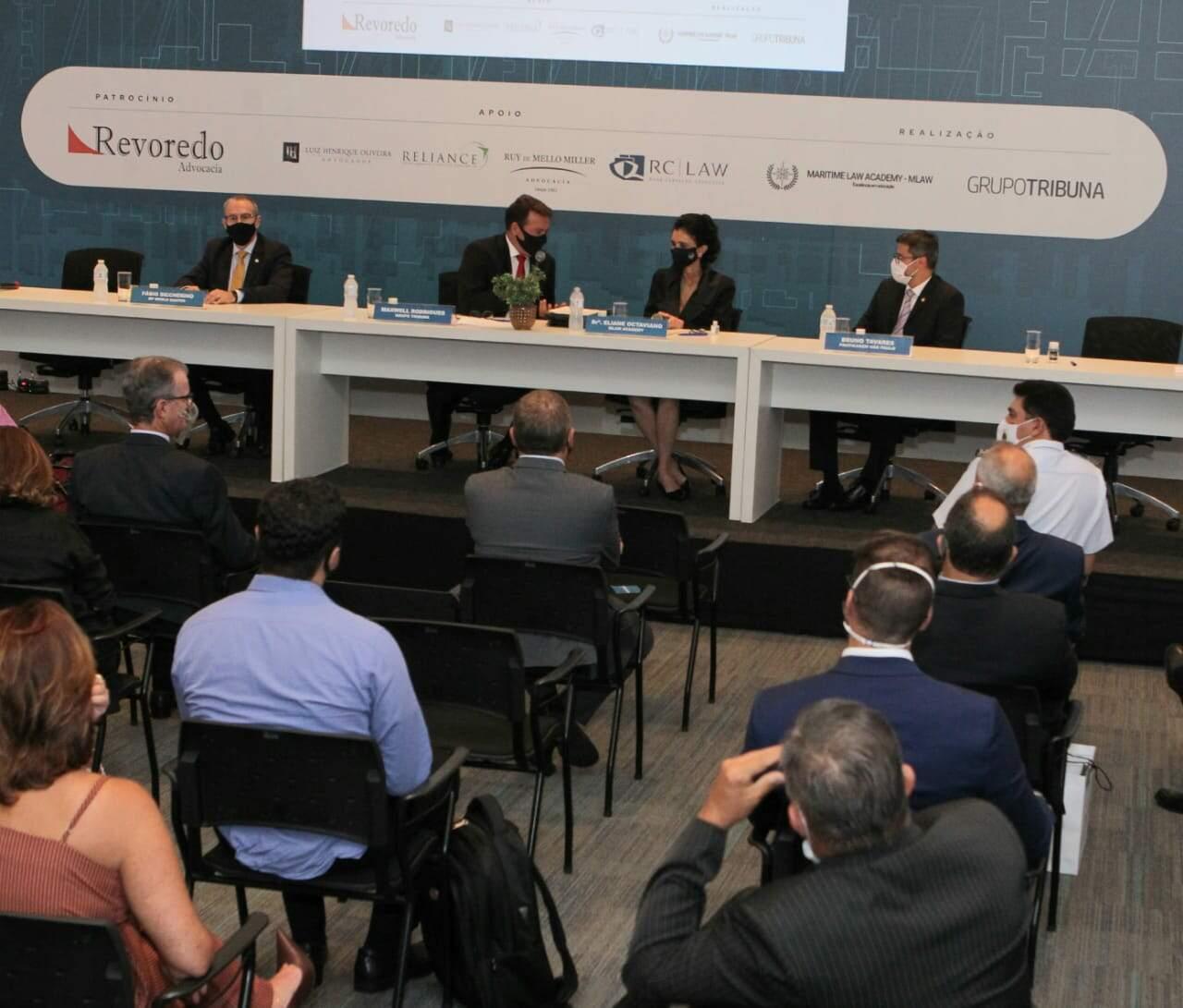 Evento é realizado pela Maritime Law Academy e organizado pelo Grupo Tribuna