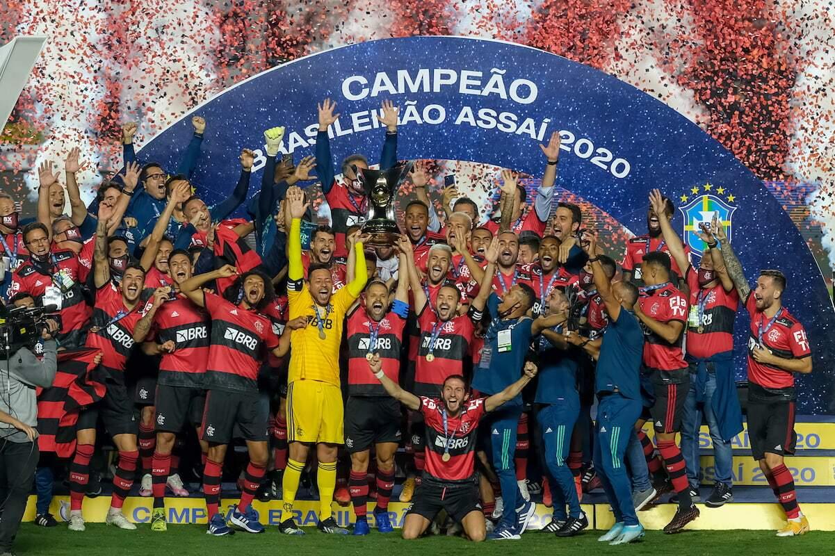 Conquista recente do título brasileiro colocou o Flamengo na liderança